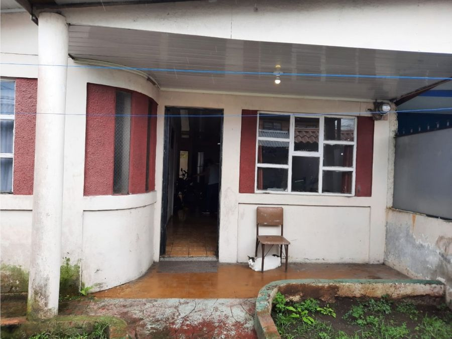 venta de casa en moravia centro