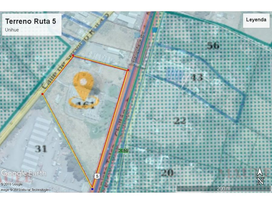sitio ruta 5 km 268 chacarillas maule