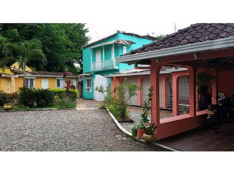vendo hotel campestre en villavicencio