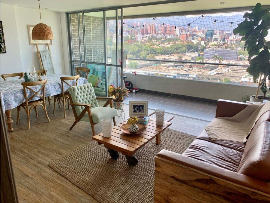 se vende apartamento en ciudad del rio medellin