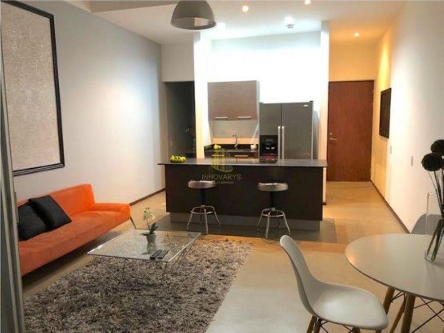alquiler de apartamento tipo estudio amueblado brasil santa ana