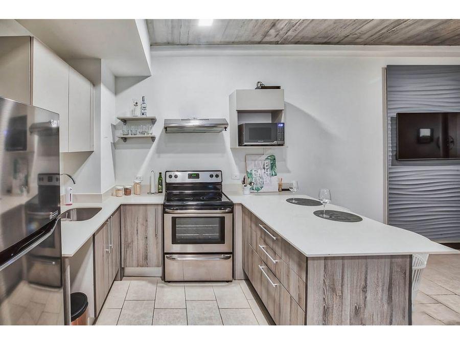 venta de apartamento de 1 cuarto en torre qbo rohrmoser