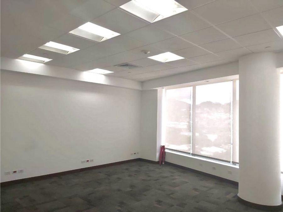 se alquila oficina en exclusivo edificio meridiano escazu