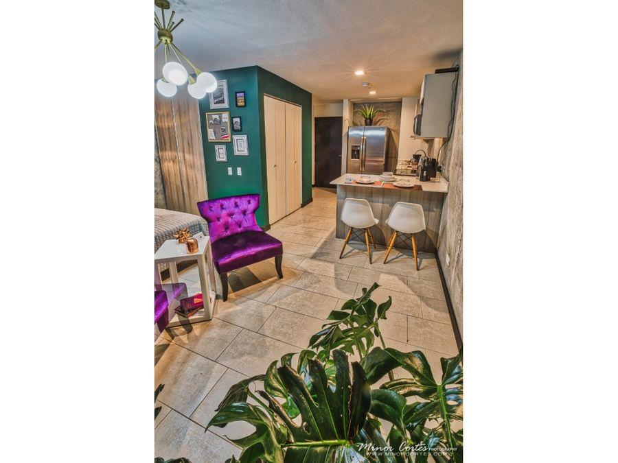 venta de apartamento estudio en torre qbo rohrmoser