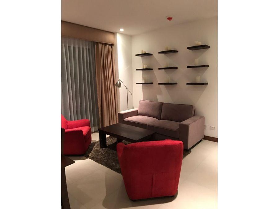 alquiler de apartamento amoblado de 2 cuartos en distrito 4