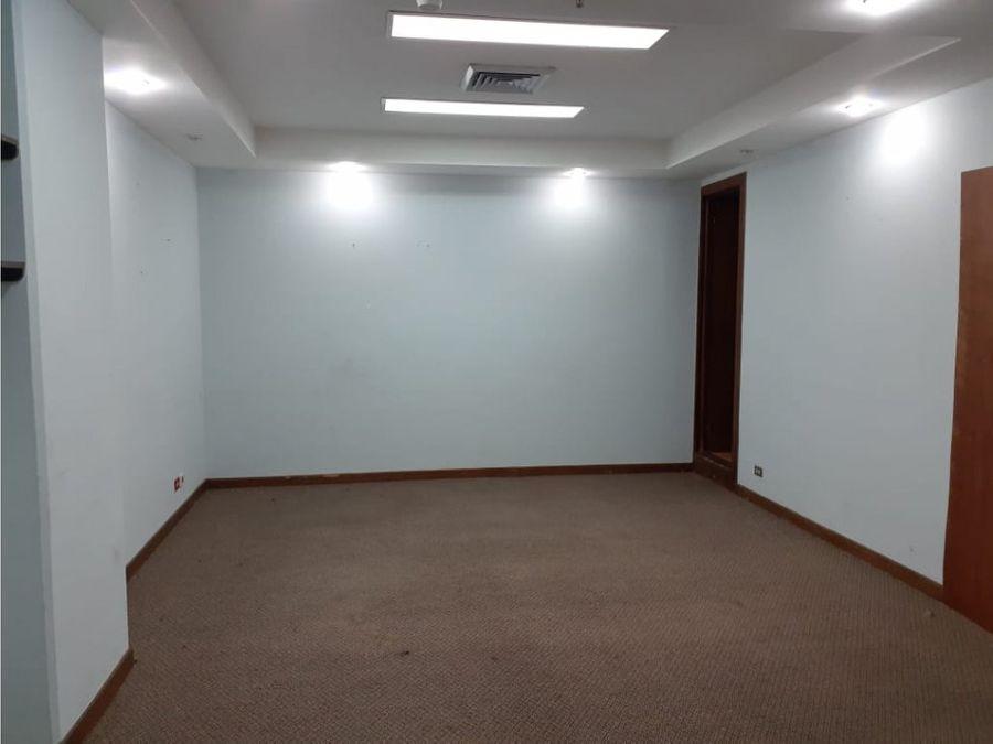 alquiler de oficina de 7690 m2 en torre mercedes