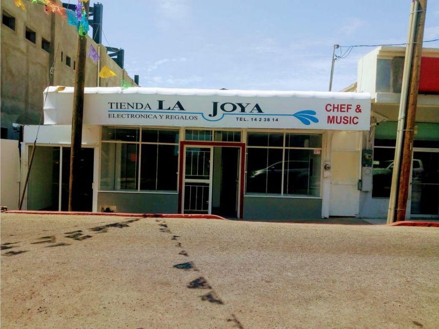 venta local la joya centro san jose del cabo