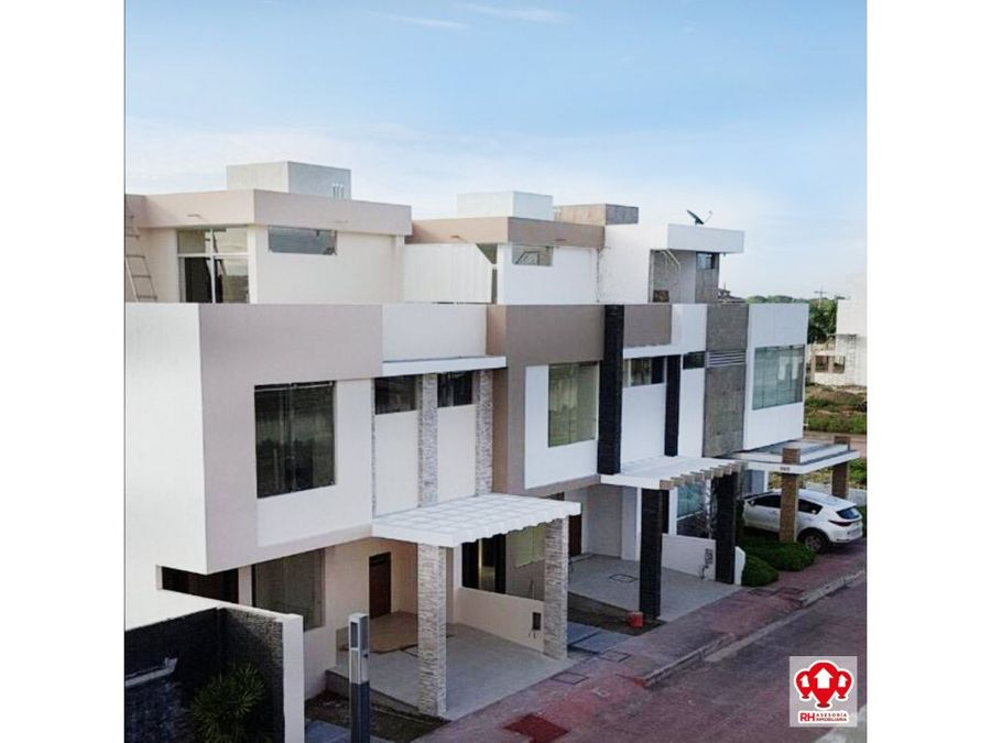 casa nueva en venta en urb oro real machala cor