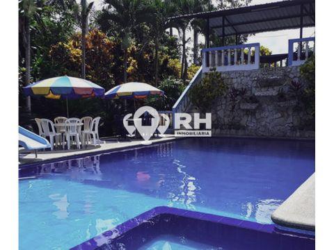 finca en venta con casa y piscina en la avanzada santa rosa 655 349