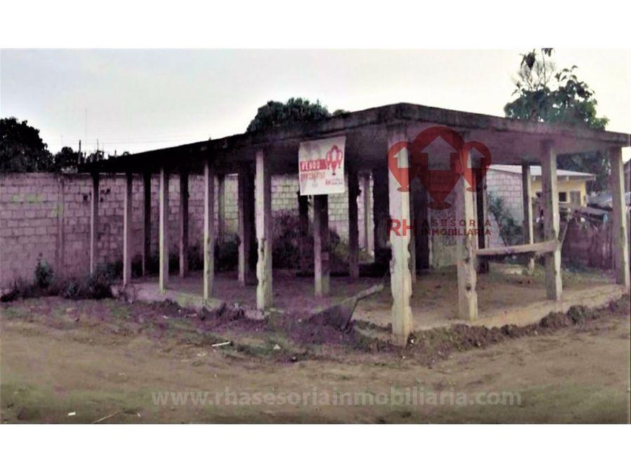 terreno en venta a la salida de pasaje 245