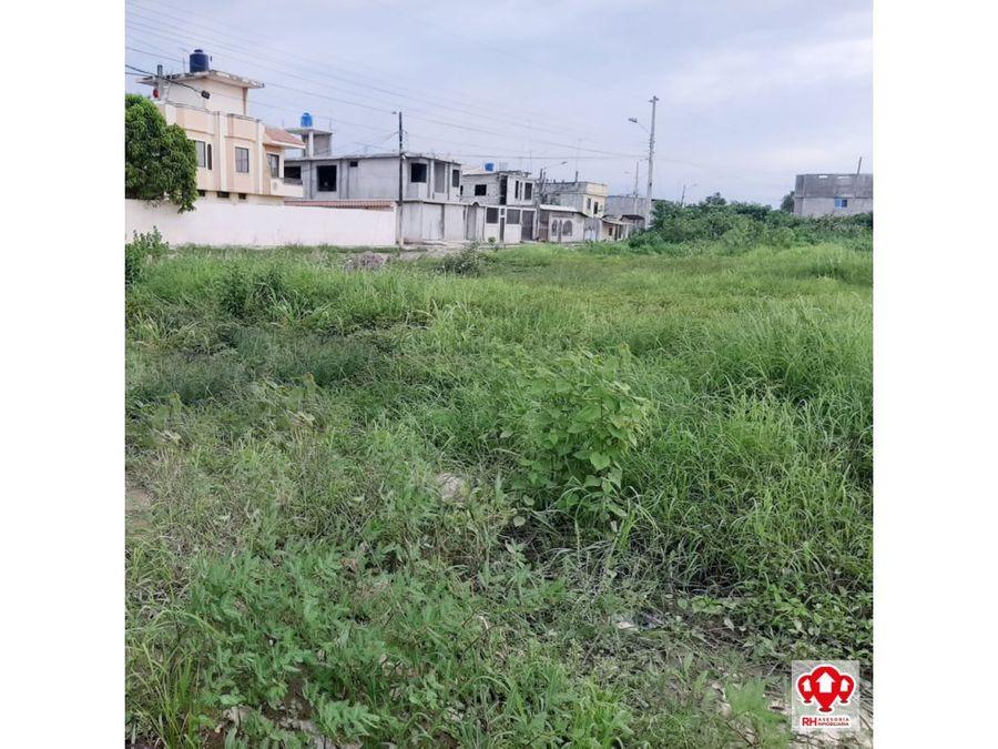terreno en venta en coop de vivienda san gregorio machala kctv