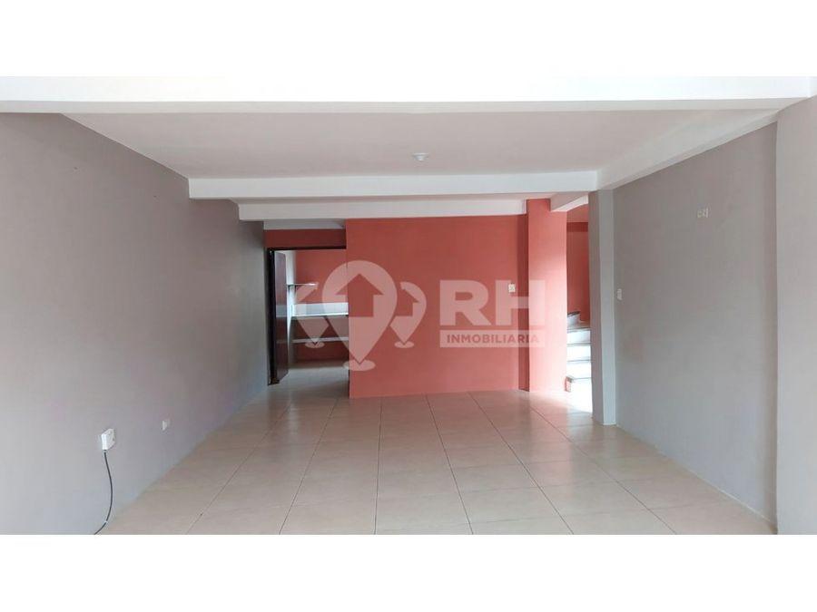 casa en alquiler en urb santa ines machala cb07