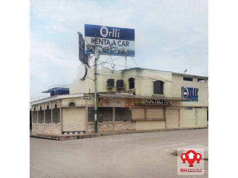 local comercial esquinero en venta puerto bolivar machala 593