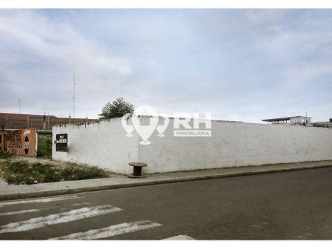 terreno esquinero en venta via a puerto bolivar machala 243