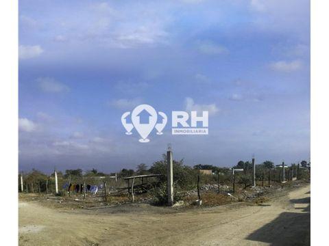 terreno esquinero en venta en huaquillas sector los ceibos 543