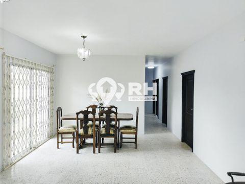 departamento con cuatro dormitorios y garaje en alquiler evmh