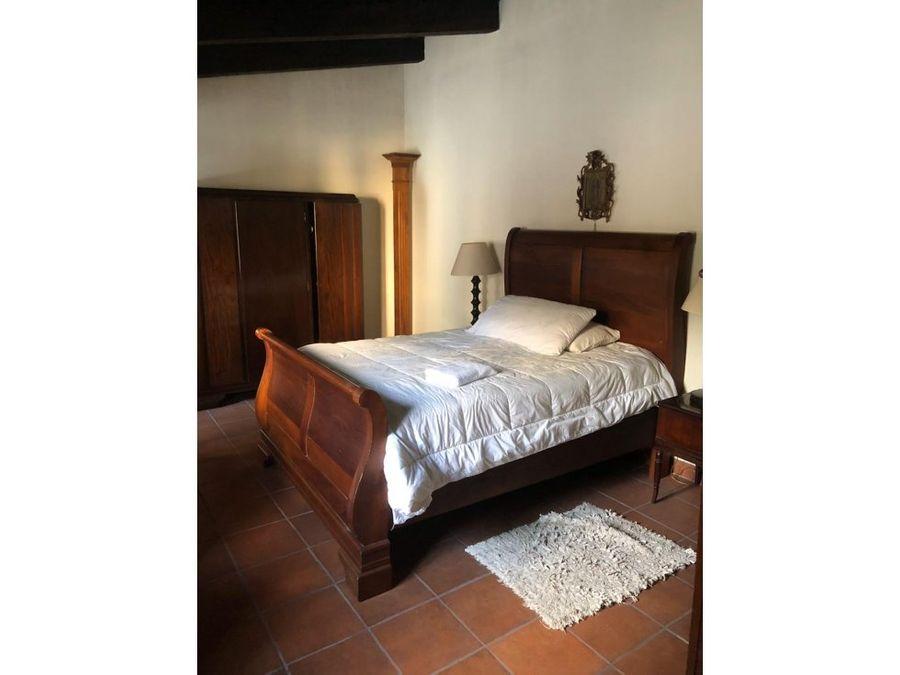 casa en el casco de antigua guatemalad