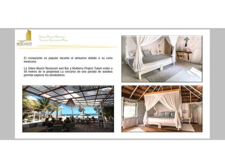 hotel playa mambo eco cabanas tulum