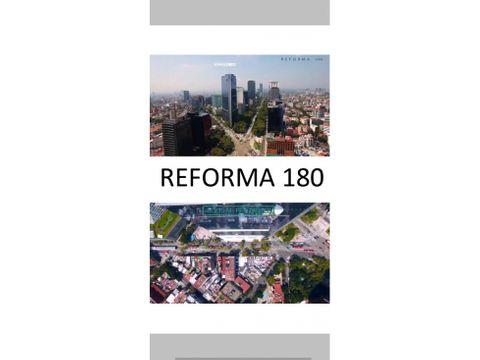 torre reforma 180 con helipuerto en venta