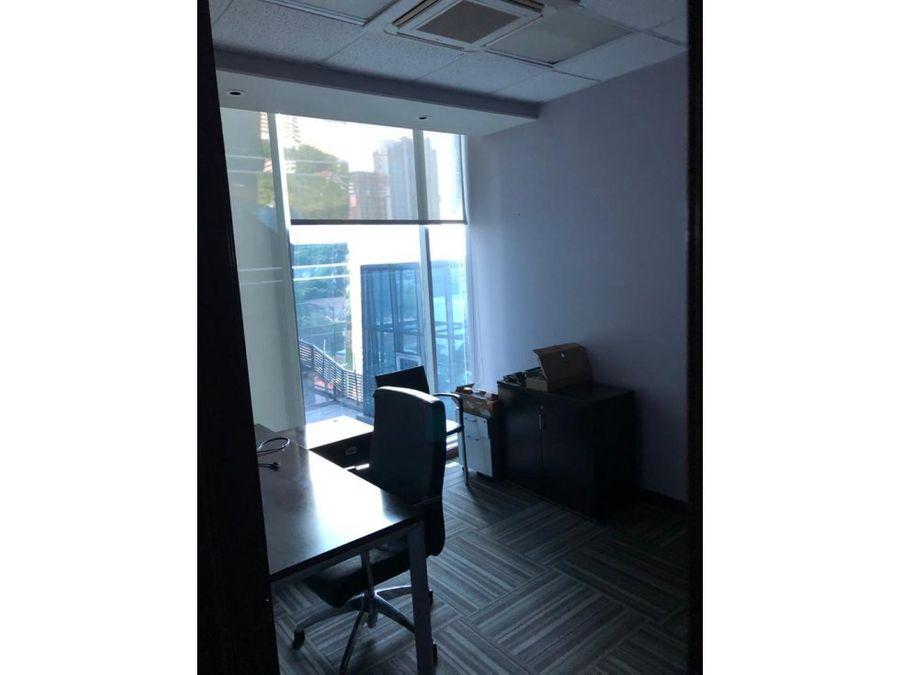 oficina amoblada en ph office one calle 50 sf