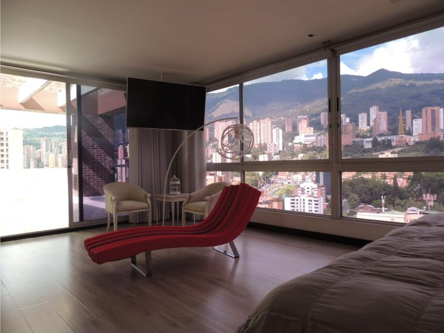 exclusive penthouse w jacuzzi in el poblado