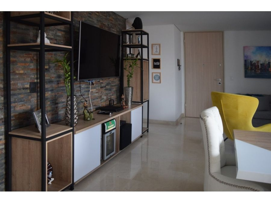 open concept apartment in laureles