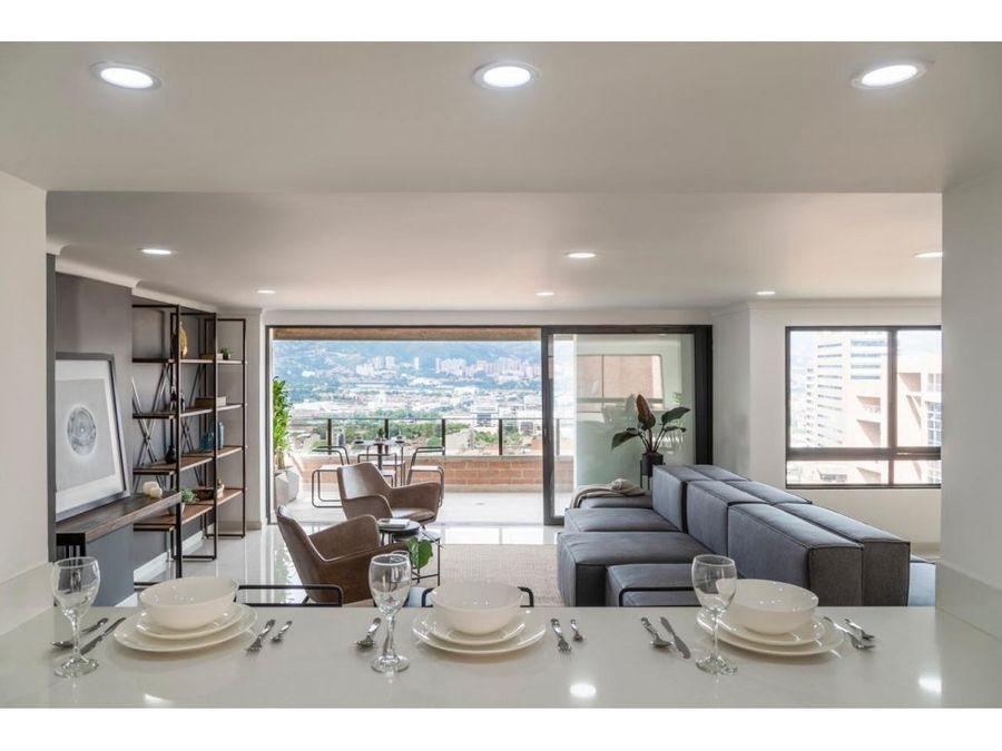 remodeled 2432 sq ft apartment in el poblado