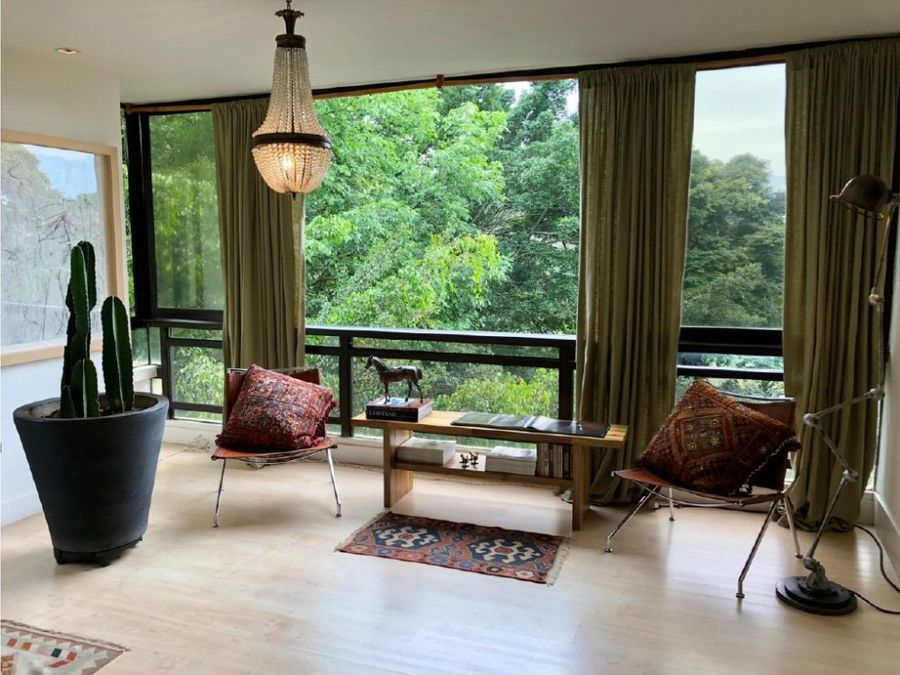 refined apt surrounded by nature near zona rosa