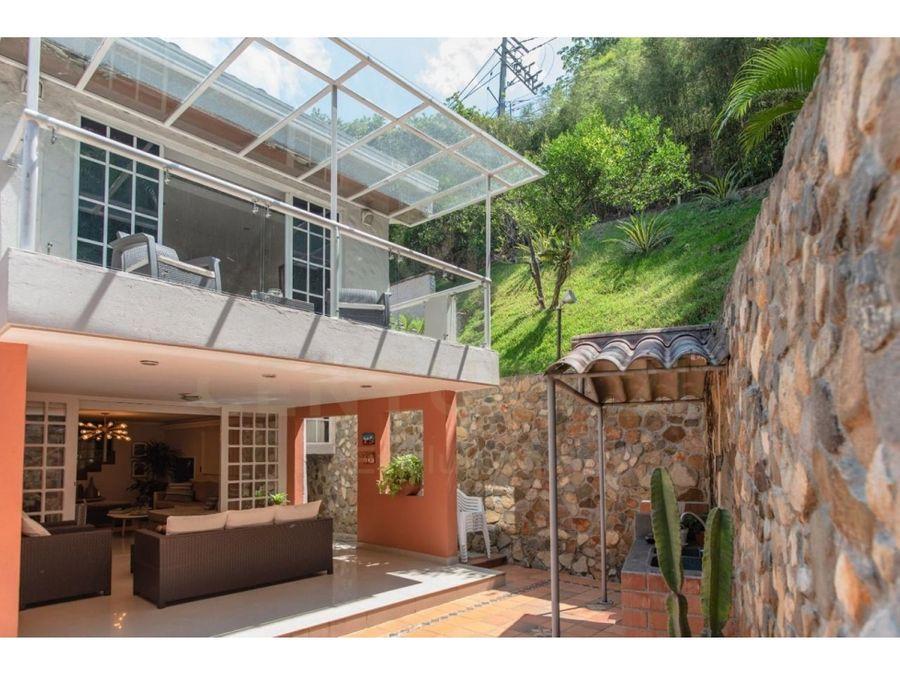 beautiful house in los balsos el poblado wgreen view