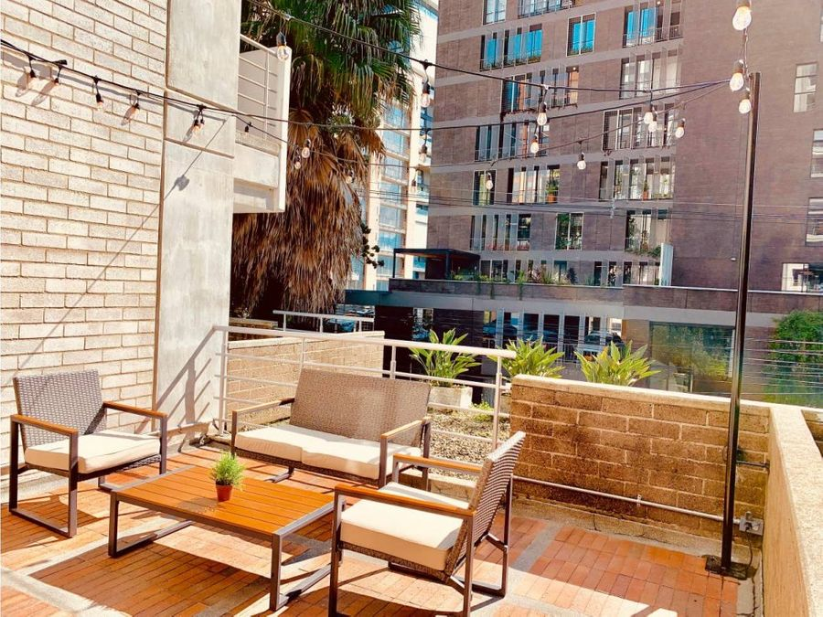 furnished apt w short term license in el poblado