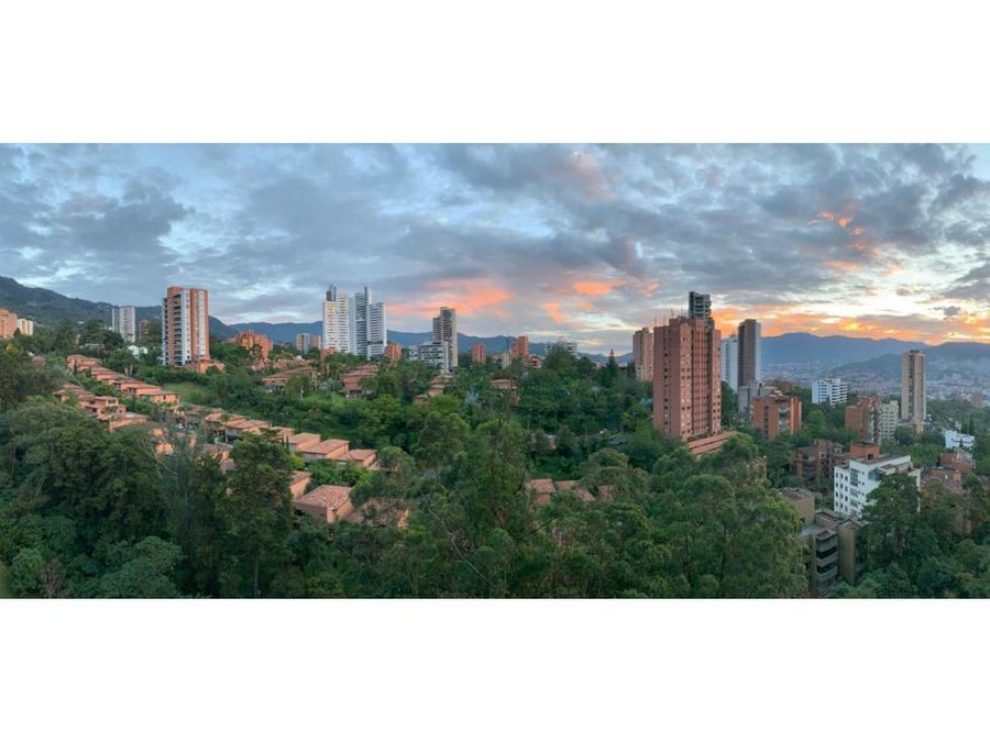 classic apt w beautiful view in el poblado