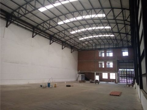 alquilo bodega industrial 1300 m2 aprox zona franca caldas antioquia
