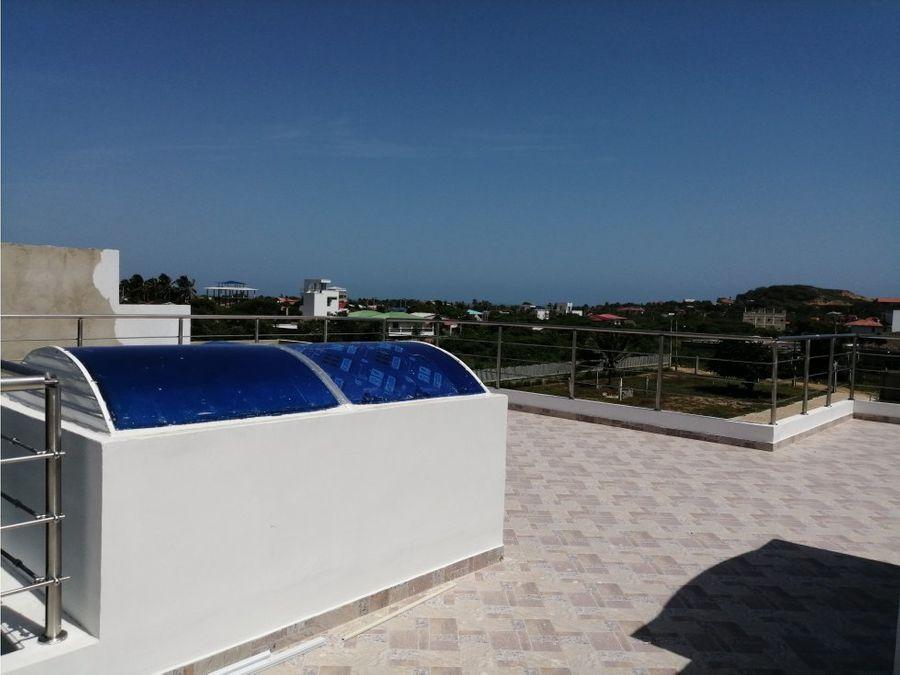 venta de casa de playa en santa veronica