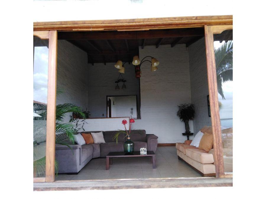 casa campestre estilo colonial via la reforma