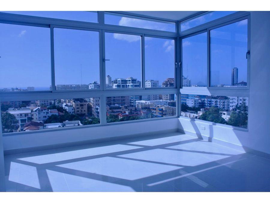 penthouse en venta en bella vista santo domingo