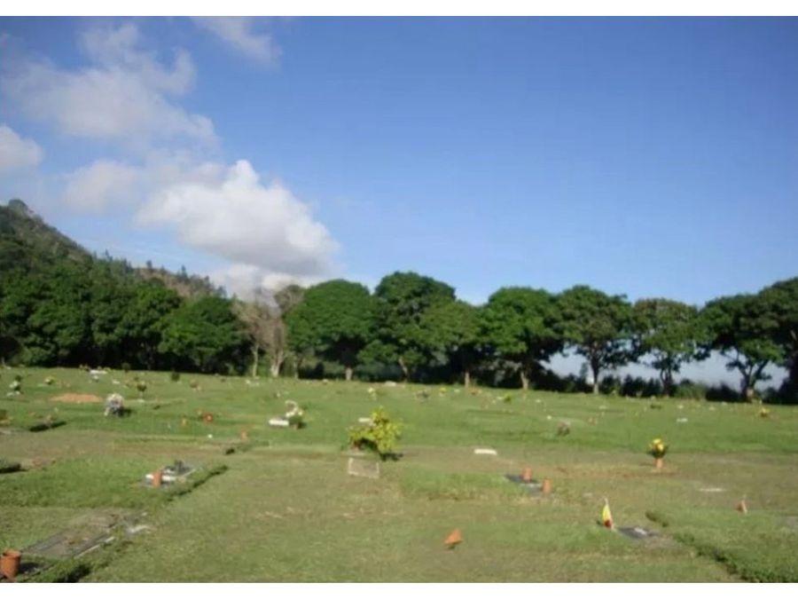 vendo parcela en el cementerio del este