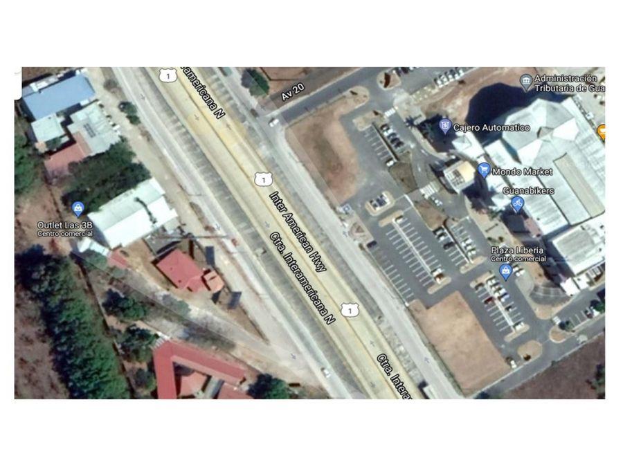lote comercial en liberia centro freten el mall