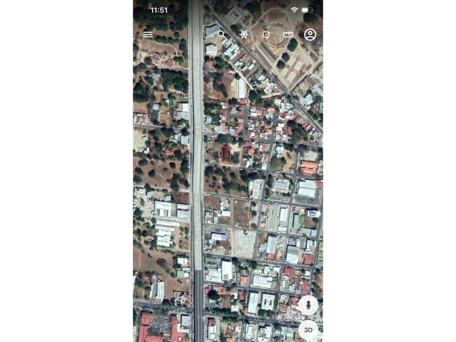 lote comercial en liberia centro