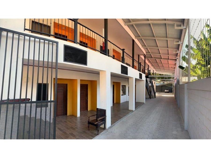 edificio de apartamentos en liberia centro guanacaste