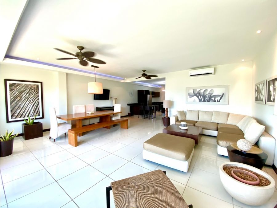 beach condo in playa hermosa not furnished