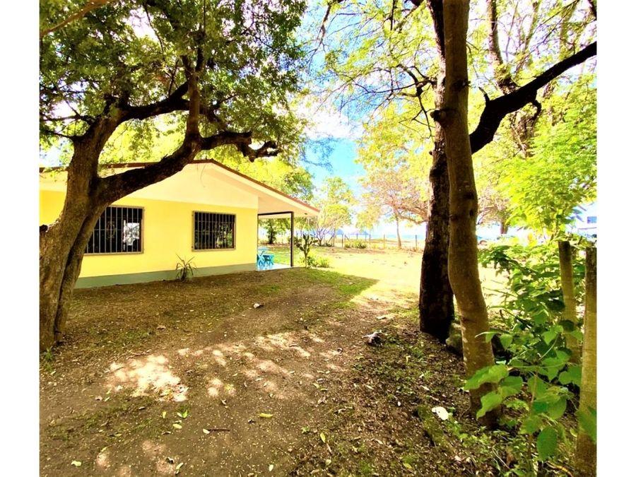 propiedad frente al mar en papagayo guanacaste