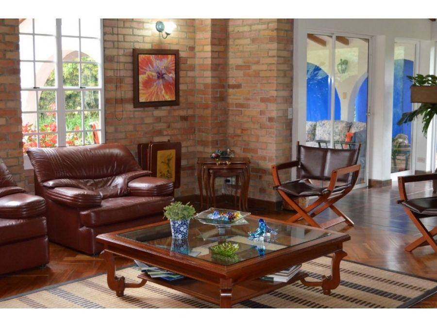 casa en venta llanogrande rionegro