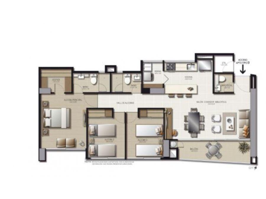 apartamento nuevo en venta en loma el chocho envigado