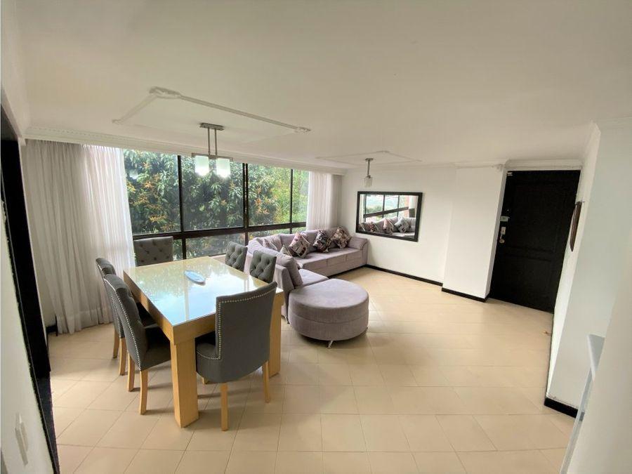 apartamento en venta en loma del indio poblado medellin