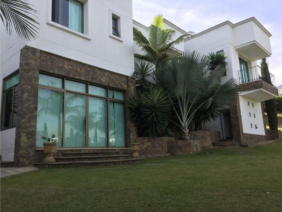 casa de lujo en venta en mirador del poblado
