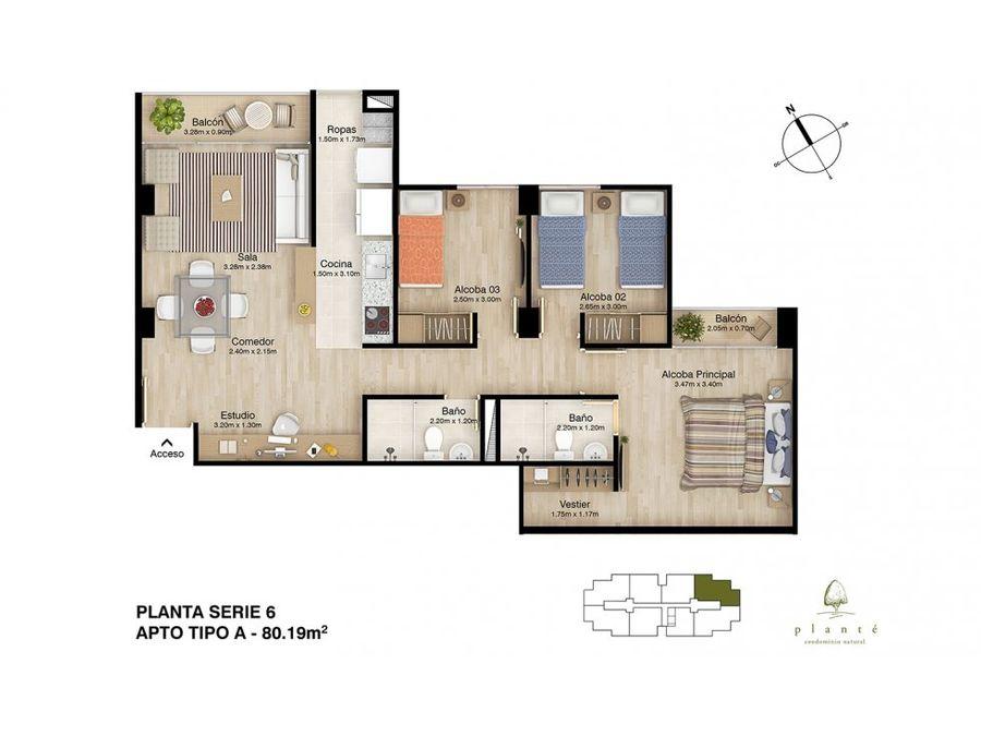 apartamento en venta en rio negro nuevo