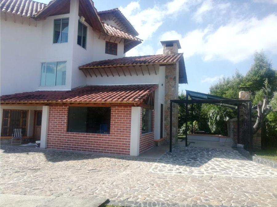 casa en venta en gualanday rionegro antioquia