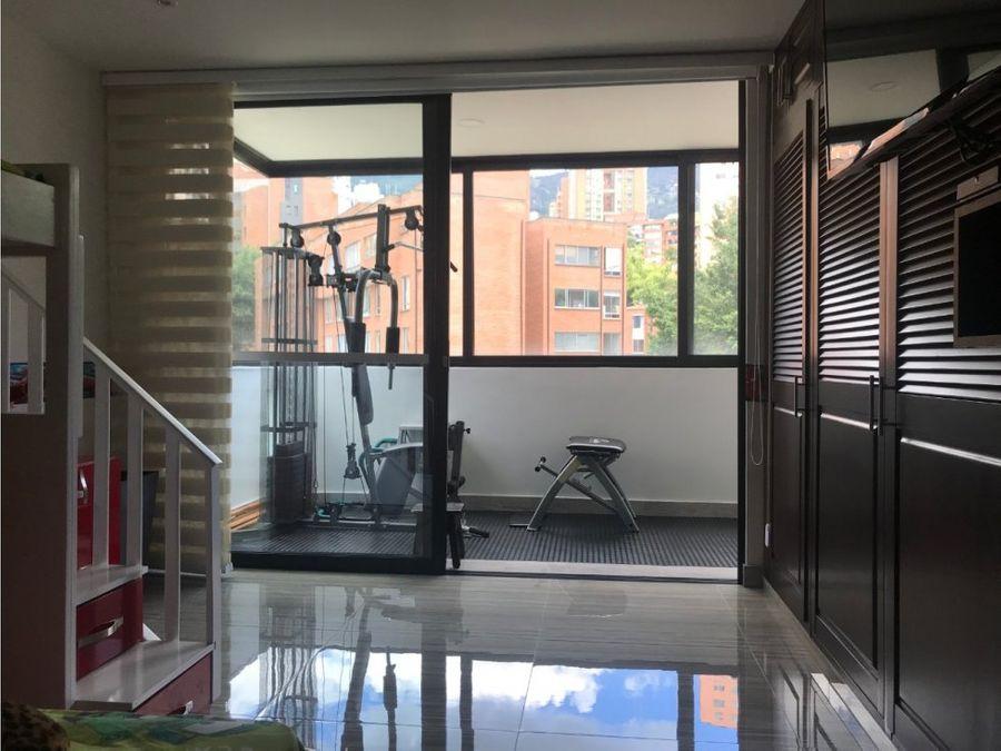 apartamento en venta en poblado sector los balsos