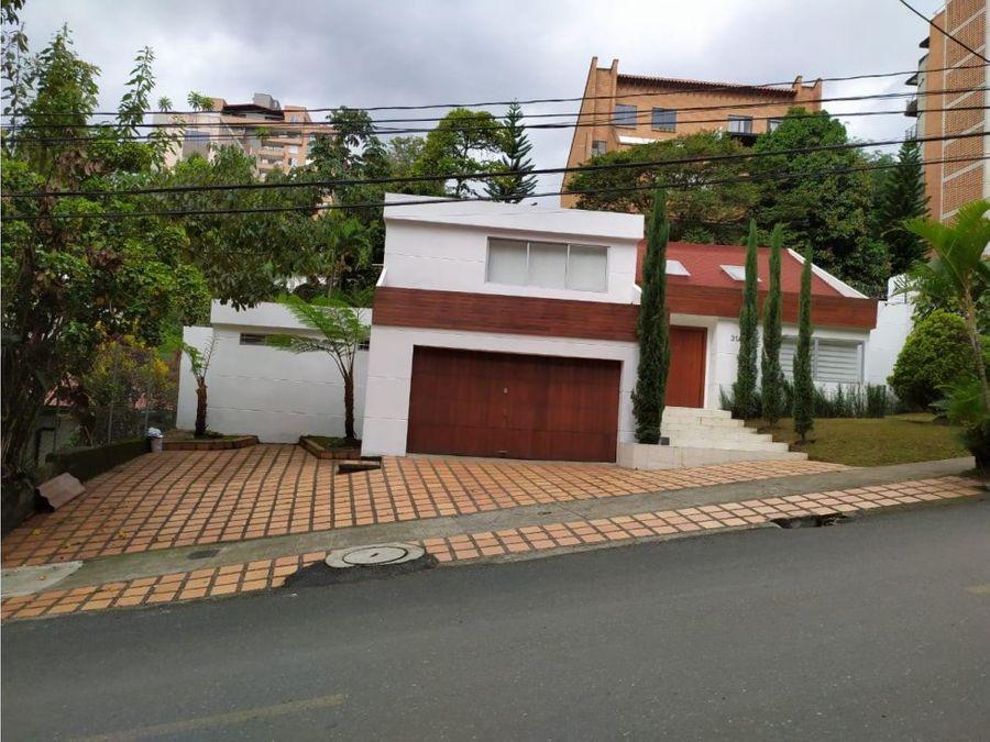 casa en venta poblado medellin
