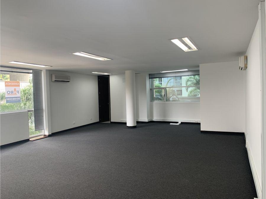 oficina en arriendo en edificio forum poblado